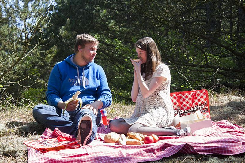 Picknicktas en picknickapp
